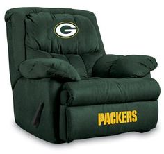 Use this Exclusive coupon code: PINFIVE to receive an additional 5% off the Green Bay Packers Home Team Recliner at SportsFansPlus.com