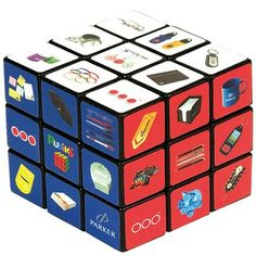 Personalised Rubik's Cubes