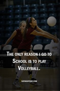 Volleyball Sayings #quotes #sayings #volleyball #sayingspoint #sports