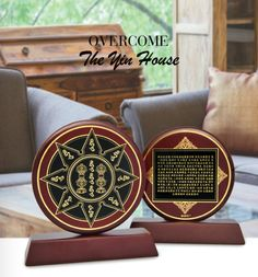 The Magic Wheel is a powerful for overcoming the Yin House, which affects all Patriarchs in 2015. Place in the Northwest location to suppress this highly negative star. This amazing plaque can also ward off office politics and gossip from others when placed on your desk. http://www.fsmegamall.com/index.php?l=product_detail&p=3509