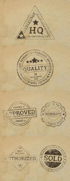 Today's special is a nice Set Of 6 Rubber Stamp PSD Effects. Feel FREE to use them in both personal and commercial projects without restrictions.