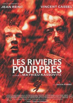 """Main theme from the french movie """"The Crimson Rivers"""" from 2000 by Mathieu Kassovitz, starring Jean Reno, Vincent Cassel and Nadia Fares. Vincent Cassel, Films Cinema, Cinema Posters, Movie Posters, Jean Reno, Movies And Series, Movies And Tv Shows, Film Mythique, Musica"""