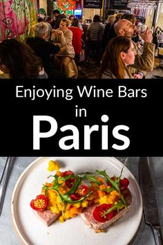 Taking time to drink wine in Paris is a must during any visit to France's magical city of lights. Check out more than a dozen Paris wine bars that you will love both for their wine selections and hip vibes.   Paris   France   Natural Wine   French Wine   Paris Wine   Wine in Paris French Wine, French Food, Tapas Dishes, Paris Food, Wine Bars, Drinking Around The World, Paris Restaurants, Drink Wine