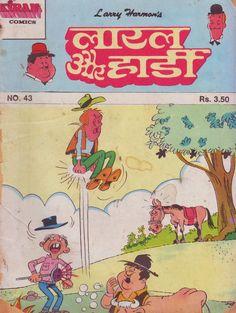 Laurel&Hardy Indian Comics, Laurel And Hardy, Larry, Peanuts Comics