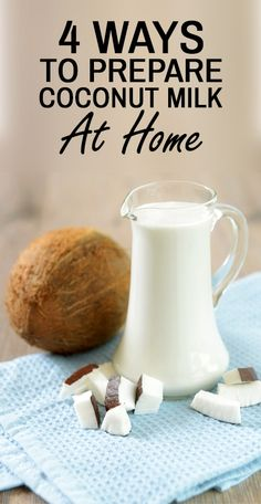 Do you want to add a dose of richness to your food? Want to make your meal more nutritious and wholesome? Know how to make coconut milk just in 4 simple ways Coconut Milk For Hair, Coconut Soap, Coconut Milk Benefits, Health And Nutrition, Health Care, Healthy Meals, Healthy Eating, Healthy Recipes, Diy Food