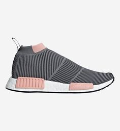 Baskets femme Baskets montantes NDM CS1 Primeknit Gris Adidas Originals Baskets, Adidas Originals, The Originals, Nike, Adidas Women, Adidas Sneakers, Slip On, Shopping, Mesh