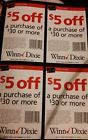 (20) $5 off $30 Winn Dixie Coupons Good at Publix - http://couponpinners.com/coupons/20-5-off-30-winn-dixie-coupons-good-at-publix/