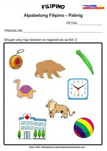 """Five letters of the 28 in the Filipino Alphabet are referred to as """"Patinig"""" (Filipino vowels). These are the letters A, E, I, O and U. The rest of the letters are referred to as """"… 1st Grade Reading Worksheets, Kindergarten Addition Worksheets, Kindergarten Reading, Kindergarten Worksheets, Vowel Worksheets, Alphabet Worksheets, Printable Worksheets, Printables, Der Plan"""