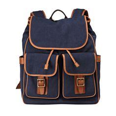 my boyfriend having good taste right here - Fossil Estate Varsity Backpack Mens Travel Bag, Backpack Travel Bag, Travel Bags, Fashion Backpack, Fossil Watches, Fossil Bags, Travel Accessories For Men, Fashion Bags, Mens Fashion