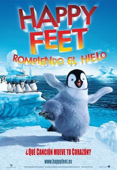 Happy Feet rompiendo el hielo - Happy Feet