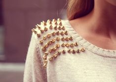 Cozy Studded Sweater