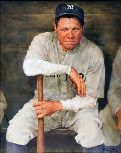 Babe Ruth by Ron Stark