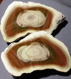 #3 Matched pair Royal Imperial Jasper polished halves Zacatecas Mexico 4.5 OZ.