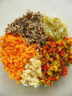 sio-smutki! Monika od kuchni: Kotlety warzywne Fried Rice, Burgers, Fries, Vegetarian, Vegetables, Ethnic Recipes, Food, Hamburgers, Veggies