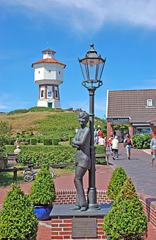 Water tower on Langeoog with Lale-Andersen-Monument, East Frisian Islands, Lower Saxony, Germany Mystery Shopper, Lower Saxony, Beacon Of Hope, Cover Letter Example, Best Mysteries, Palais Des Festivals, Europe, Water Tower, North Sea