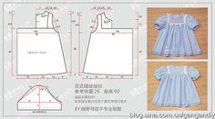 Patron para hacer una blusa para niñas
