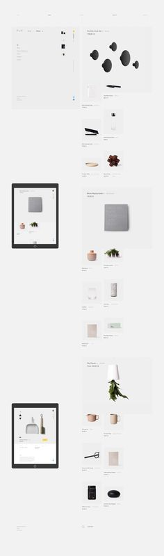 Formerly Yes — is a website that allows people to choose and buy functional things made for comfort and beauty with attention to details. Designer faced a challenge of creating a website akin to these things — aesthetically pleasing and easy to use.