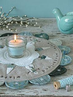 Handmade Candle mat