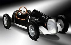 "<p>A deluxe toy.  Audi has created this electric-powered and half-scale recreation of an Auto Union Type C, grand prix racer of the late 1930s. Audi will be showing the ""Auto Union Type C e-tron study"