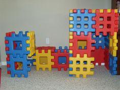 Waffle Block Forts