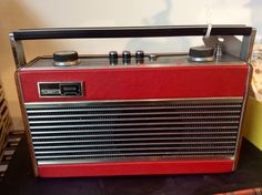1964 Roberts T22 Vintage Radio in full working order by KingdomFurnishings on Etsy https://www.etsy.com/listing/213232969/1964-roberts-t22-vintage-radio-in-full