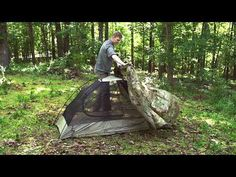 How to setup a LiteFighter 1 tent - YouTube Tenda Camping, Waterproof Tent, Youtube, Youtubers, Youtube Movies