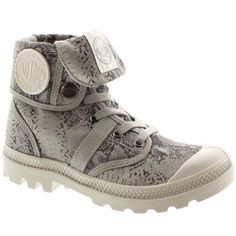 Chaussures Femme Palladium Baggy Animals F Snake Light Grey - LaBoutiqueOfficielle.com
