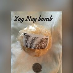 Lush Yog Nog bomb Classic Yog Nog large holiday bomb. When holidays are gone so is production of this bomb Lush Makeup