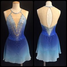 Cheap Ballroom, Buy Directly from China Suppliers:Custom-Made Figure Skating Dress Adult New Brand Figure Skating Dresses For Competition Figure Skating Competition Dresses, Figure Skating Outfits, Figure Skating Costumes, Custom Dance Costumes, Girls Dance Costumes, Dance Outfits, Ice Dresses, Ice Skating Dresses, Figure Skating Quotes