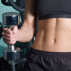 The secret to speeding up your results and getting sexy abs? Just add weights!