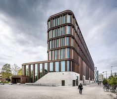 Gallery of Lund District Court / FOJAB arkitekter - 1 Commercial Architecture, Facade Architecture, Contemporary Architecture, Lund, Metal Cladding, Construction Contractors, Style Minimaliste, District Court, Facade Design