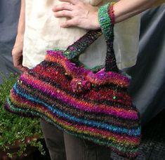 Knit purses Yarn Crafts, Yarns, Purses, Google Search, Knitting, Crochet, Fashion, Breien, Handbags