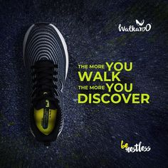Discover something new with every step you take!  #Walkaroo #BeRestless #WS9039 Every Step You Take, All Black Sneakers, Walking, How To Wear, Men, Shoes, Products, Fashion, Jogging