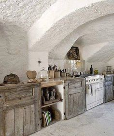 useful antiques in the kitchen