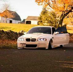 BMW E46 M3 white slammed http://tomandrichiehandy.bodybyvi.com/thankyou.html