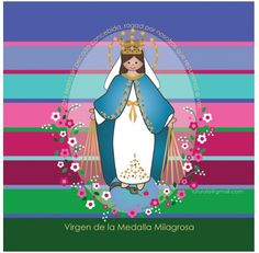 Virgen de la Milagrosa.