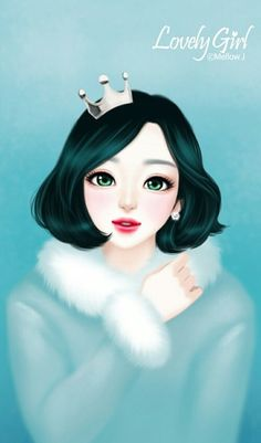 Find images and videos about wallpaper, lovely girl and Enakei on We Heart It - the app to get lost in what you love. Korean Illustration, Illustration Girl, Pretty Drawings, Art Drawings, Anime Korea, Cute Kawaii Girl, Lovely Girl Image, Girly M, Cute Girl Drawing