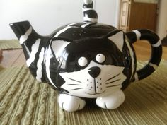 Cat Teapot . . . Isn't it cute???