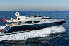 Mythos is an exceptional motor yacht filled with light throughout.
