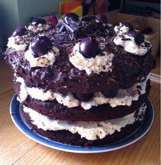 su's baking : black forest cake