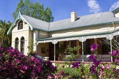 Bonne Esperance Guest Lodge - Bonne Esperance is a charming Victorian villa, originally built in 1901, and featuring a wrap-around verandah, cast iron mouldings, and corner-turret. The house retained the same charm and ambience of ... #weekendgetaways #stellenbosch #southafrica