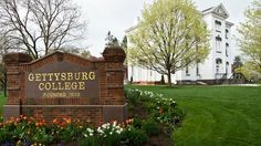 Pennsylvania Hall on the campus of Gettysburg College. Love the old buildings and the rich history that surrounds the town!