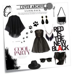 """Untitled #39"" by amila-lugavic ❤ liked on Polyvore featuring Post-It, Relaxfeel, Alice + Olivia, Alexander McQueen, BeckSöndergaard and Ray-Ban"