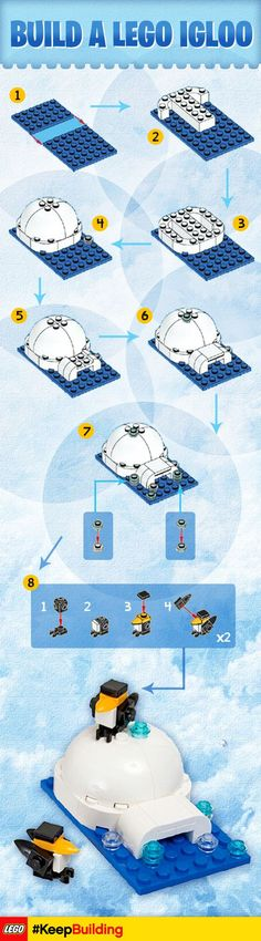 Get in the winter spirit and build your very own #LEGO igloo #KeepBuilding.