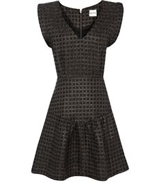 Reiss Eos Tiered Dress, Black discovered on Fantasy Shopper Beautiful Dresses For Women, Elegant Dresses, Reiss Dresses, Fit N Flare Dress, Tiered Dress, Ladies Dress Design, Fashion Advice, New Dress, Designer Dresses