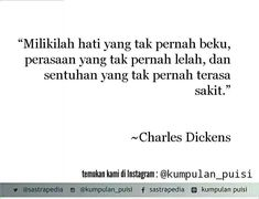 Puisi pendek. Kumpulan puisi. Charles Dickens.