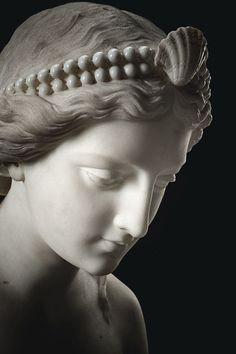 Eternal...'NAJADE O NINFA' by Giovanni Battista Lombardi (1823-1880), via Sotheby's.