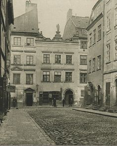 Warszawa 1890-99 Warsaw City, Warsaw Poland, What A Wonderful World, Beautiful Buildings, Countries Of The World, Homeland, Old Photos, Wonders Of The World, Street View
