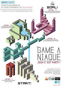 Création de jeu vidéo amateur : 5e édition du Game à Niaque - Ouvert à tous les passionnés et jeunes créateurs, le principe du Game à Niaque est simple : créer un mini-jeu dans l'esprit du Toulouse Game Show (1er salon du sud de la France avec plus de 44 000 ...