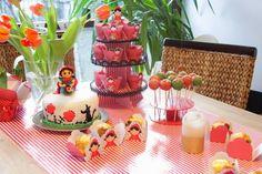 Montando minha festa: Festa chapeuzinho vermelho